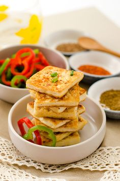Salt and Pepper Tofu Steak