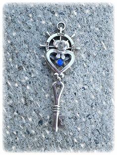 Heart Set Sail Fantasy Key by ArtbyStarlaMoore on Etsy, $15.00