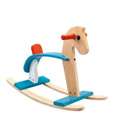 Take a look at this Arabian Horse Rocker by PlanToys on #zulily today!
