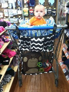 On a Stroll Bag is a great addition to any shopping cart.