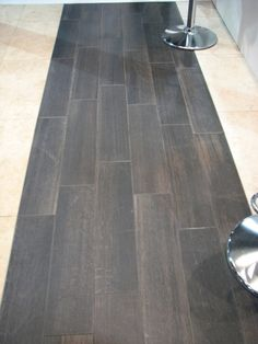 tile with wood grain texture, love this