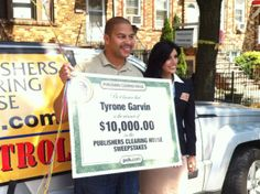 PCH Helps Tyrone Garvin from Brooklyn, NY save For His Daughter's College Fund!