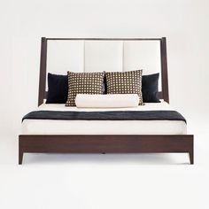 Africa upholstered bed 420 - Adriana Hoyos Furnishings