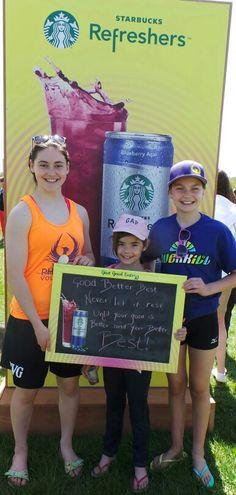 Good, Better, Best! #Woofstock #StarbucksRefreshers