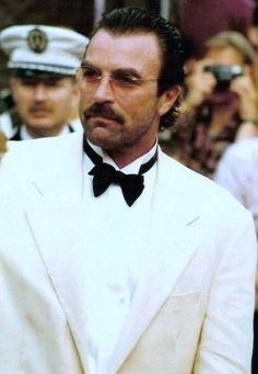 Tom Selleck at the Cannes Film Festival 1992