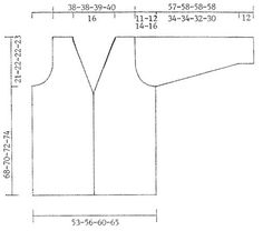 """DROPS 69-8 - DROPS Lange Jacke mit Gurt in """"Paris"""" - Free pattern by DROPS Design"""