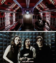 """Holy Harry Potter"" - Cisco, Caitlin and Pied Piper #TheFlash"