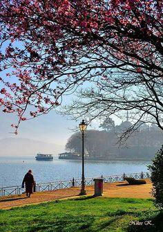 Lake Pamvotis, Ioannina, Epirus region, Greece