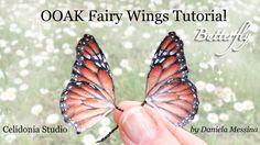 7:35  OOAK Fairy Wings Tutorial: Butterfly - Ali per Fatine: Farfalla