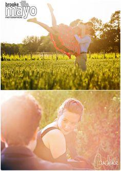 Fun engagement shoot on the farm!