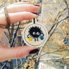 Soot Ball Necklace by Zissou