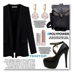 """TOMTOP"" by angelstar92 ❤ liked on Polyvore featuring Stila, vintage, PolyPower, tomtop and tomtopstyle"