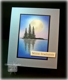 LOVE....Love...love this card!  http://craftingtheweb.blogspot.com/2011/05/moonlit-tranquility.html