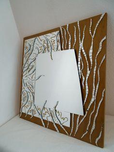 Oltre 1000 immagini su specchio quadrato mosaico pittura - Specchio con mosaico ...
