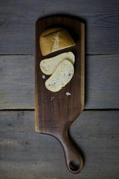 160. Large Handmade Walnut Wood Cutting Board by Lin Babb of Linwood