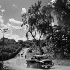 Photo by @dguttenfelder  A gravel road along the coast in Cojimar, Cuba this week. For more photographs from Cuba please follow National Geographic's  @dguttenfelder and @ngphotocamp.