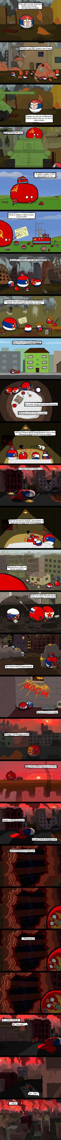 The End of Jugoslavia