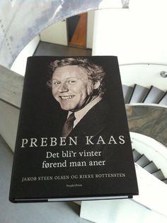 Forsiden på min og Jakob Steen Olsens bog om Preben Kaas
