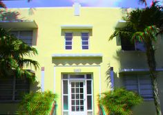 """928 Euclid Avenue - The Enjorie Apartments - Built: 1935 - Architect: Albert Anis - Style: Art Deco - Google """"anaglyph glasses"""" to view in 3D!"""