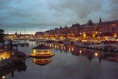 Stockholm de nuit #stockholm