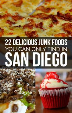22 Delicious Junk Foods You Can Only Find In San Diego. Why does this show up on my feed the day I came home from San Diego???