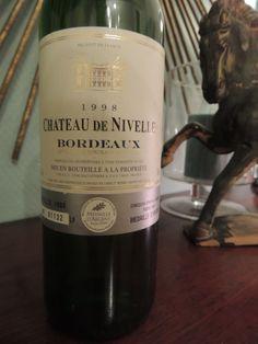 Chateau de Nivelle 1998 Bordeaux