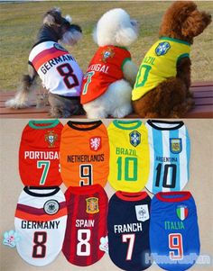 NEW Puppy Pet Dog Vest Small Dog summer clothes Sport T-shirt apparel costume