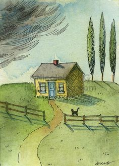 Little house | Nicole Wong