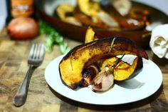 acorn squash with shallots balsamic roasted acorn squash with shallots ...