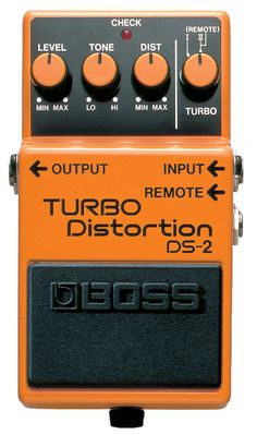 Boss DS-2 TURBO Distortion Pedal - Now that makes a great addon to any rig.