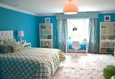 Fairy Tale Girl Bedroom Decor Ideas -50 Cool Teenage Girl Bedroom Ideas of Design, http://hative.com/50-teenage-girl-bedroom-ideas-design/,