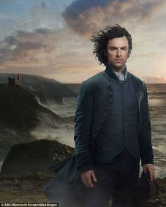 Don't mess this up! Turner hadn't heard of Poldark but was warned not to mess the job up by his mother