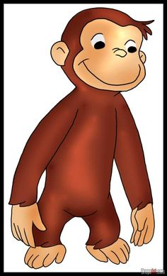 Curious George - find him on our favorite friends shelf!