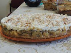 Receita de Torta de banana banoffee. Enviada por Suely e demora apenas 30 minutos.