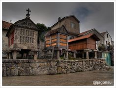 Combarro. (Pontevedra). Galicia. Spain.