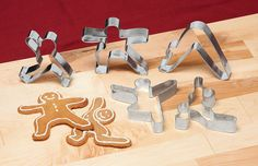 Yoga Cookie Cutters - Acacia