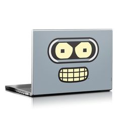 Bender Face Design Protective Decal Skin Sticker (High Gloss Coating) for 15 x 10.5 inch Laptop Notebook Computer Device:Amazon:Computers & Accessories