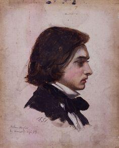 artist - Arthur Hughes 1832-1915   associated with Pre-Raphaelite Brotherhood