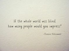 How many people would you impress?