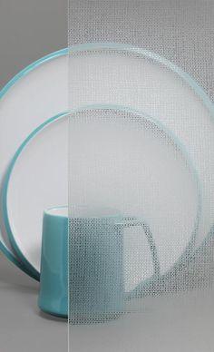 Decorative Cabinet Glass - Italian Satin Structure