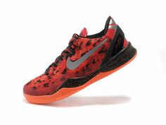 sale retailer 431ad adcd4 Nike Kobe 8 Rouge Noir Gris Basket A Talon Nike. buy Free Shipping