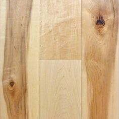 Maple Natural Character 9/16 x 5 x 1.5'  -  4.5' Select 4mm Wear Layer Smooth- Engineered Prefinished Flooring