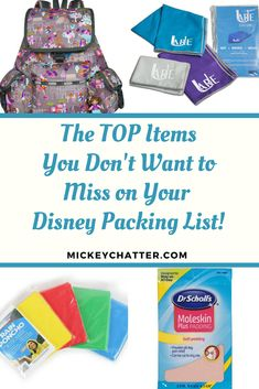 The TOP items you want to pack to bring with you to Disney World  #disneyworld #disneypacking #disneyvacation