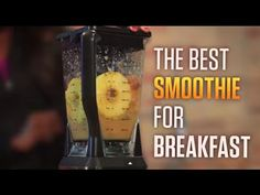 Breakfast Smoothie Recipe with Vitamin C - YouTube