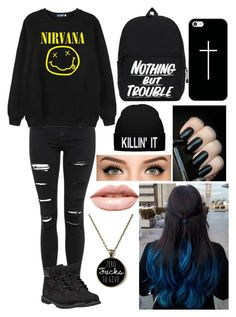 """""""Jade West (from victorious) inspired outfit"""" by x1dlover4everx ❤ liked on Polyvore featuring Topshop, Chicnova Fashion, Timberland, Casetify and LASplash"""