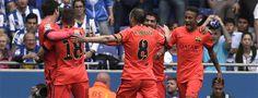 RCD ESPANYOL 0-FC BARCELONA 2 Otro paso de gigante hacia el título