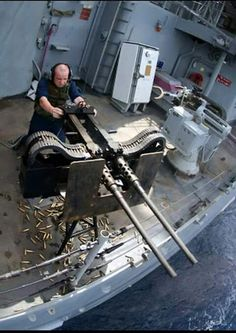 The Machine Gun or Browning Caliber Machine Gun is a heavy machine gun designed towards the end of World War I by John Browning. It is very similar in design to. Military Weapons, Weapons Guns, Guns And Ammo, Big Guns, Cool Guns, Awesome Guns, Animal Attack, Fire Powers, Panzer