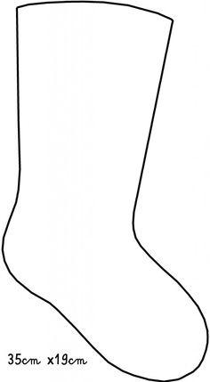 sagoma calza