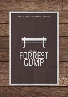Forrest Gump - Minimalist Movie Poster