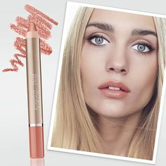 If you're on the hunt for the perfect nude lip for the no-makeup makeup look or to pair with a sultry smoky eye, try PlayOn Lip Crayon in Blissful.